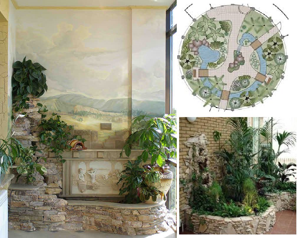 Садовый зимний домик