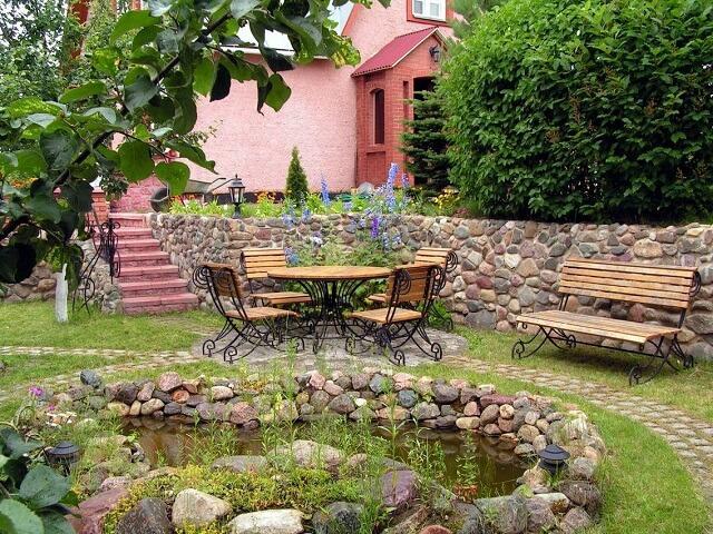 Русские сады дизайн