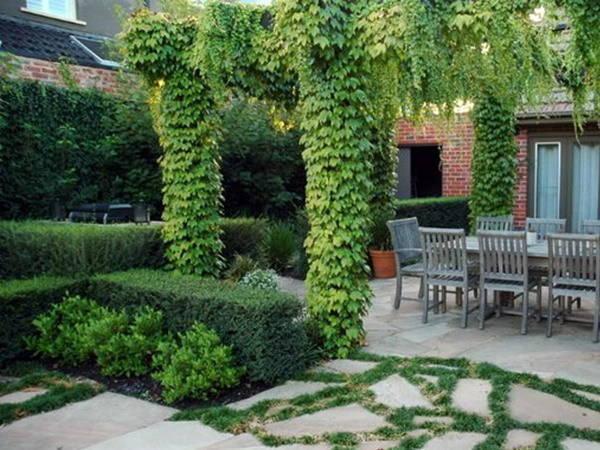 Садовые композиции в ландшафтном дизайне фото