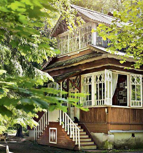 Ландшафтный дизайн стиль русской усадьбы