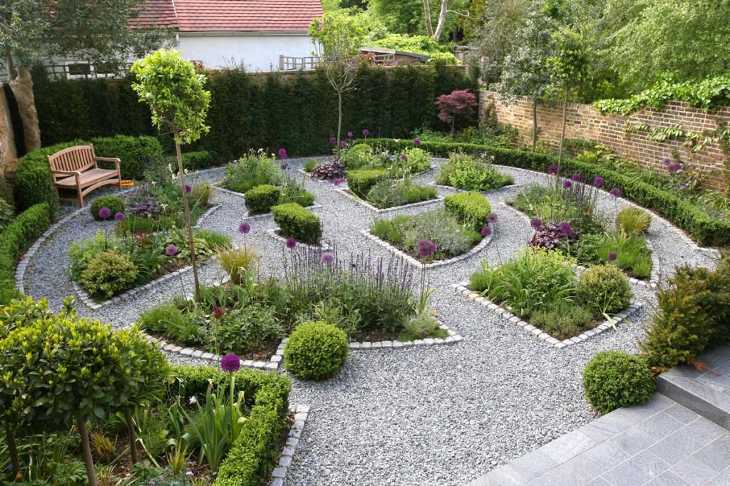 Ландшафт гравийный сад