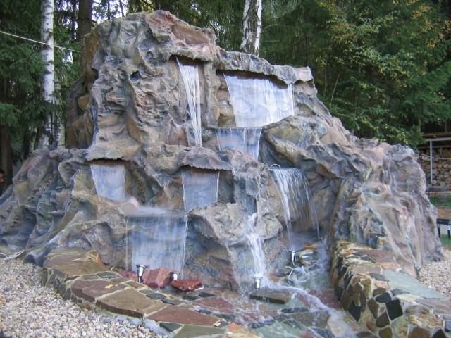 Декоративные водопады своими руками фото