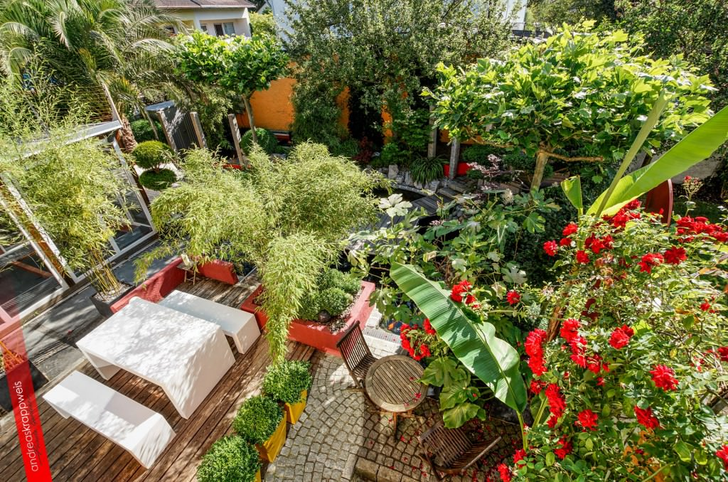 Интерьер сада и огорода