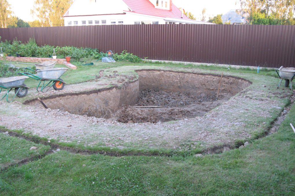Дикоративный садовый пруд