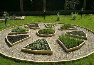 Декоративный огород. Дизайн и планировка