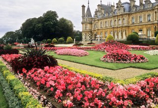 Waddesdon Manor Gardens, Buckinghamshire, England | Immaculate N