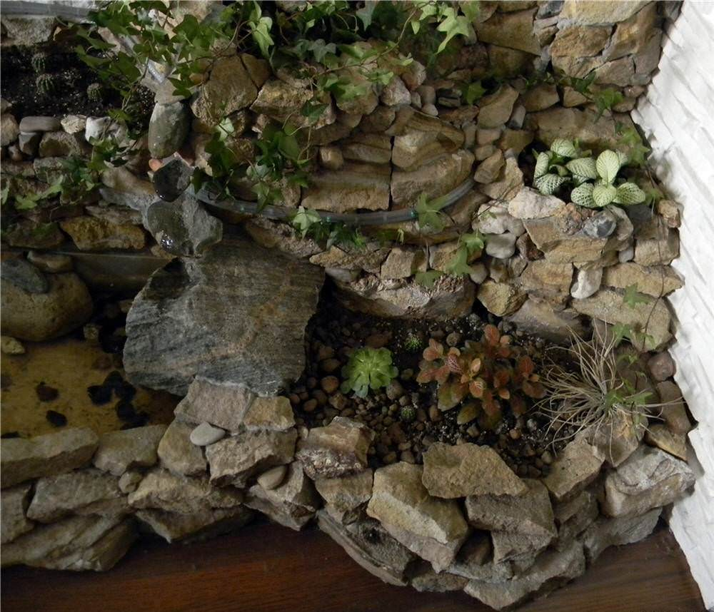 Альпийская горка в квартире фото