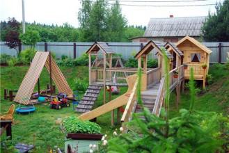 Многофункциональная детская площадка