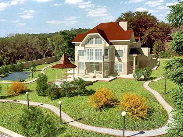 Ландшафтный дизайн на загородном участке