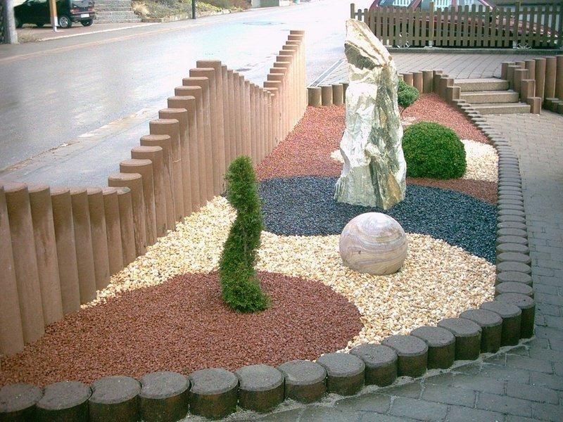 Гравийный сад идеи