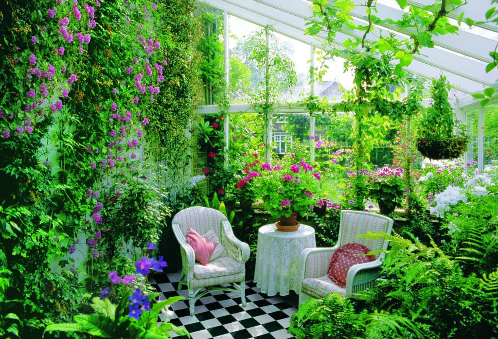 Зимний сад своими руками в доме