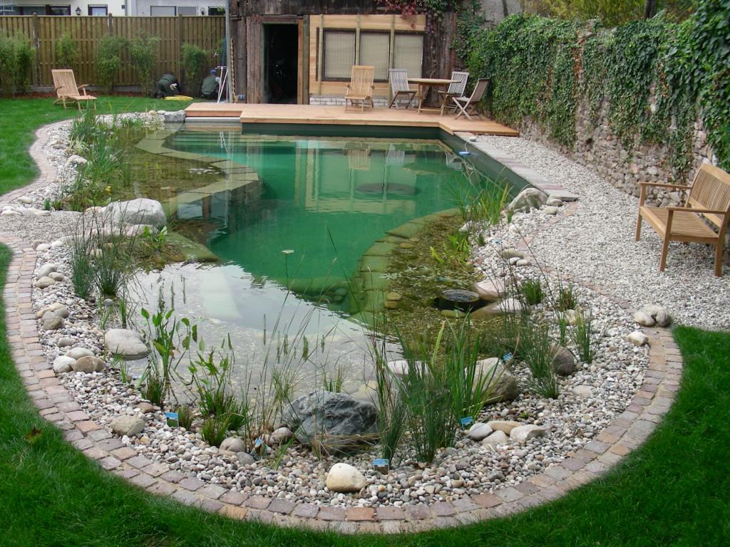 Ландшафтный дизайн водоемы