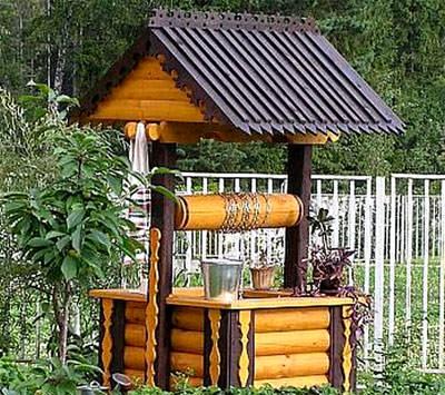 Инструкция по изготовлению ворота для колодца