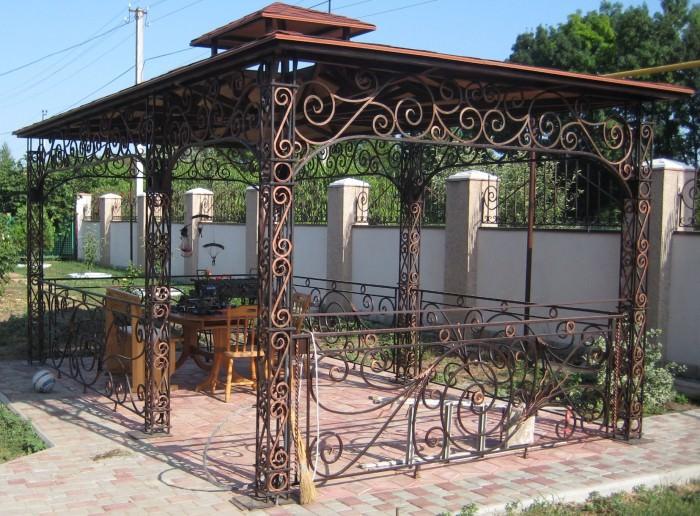 Деревянные павильоны для дачи