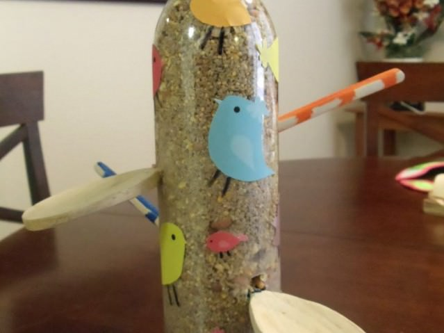 Сделать скворечник из Пластиковой бутылки