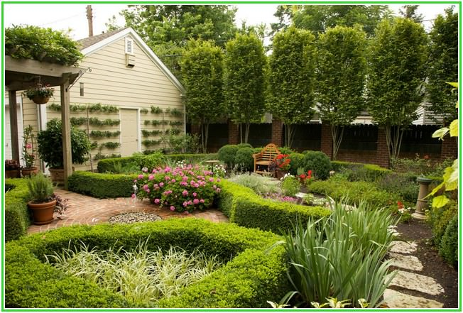 дизайн сада и огорода 4 сотки своими руками картинки