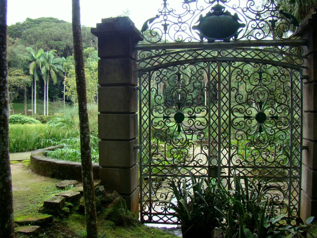 Виды ворот для дачи