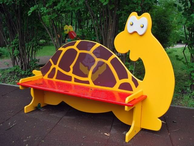 Скамейка для детского садика своими руками