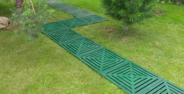 Модульные садовые дорожки