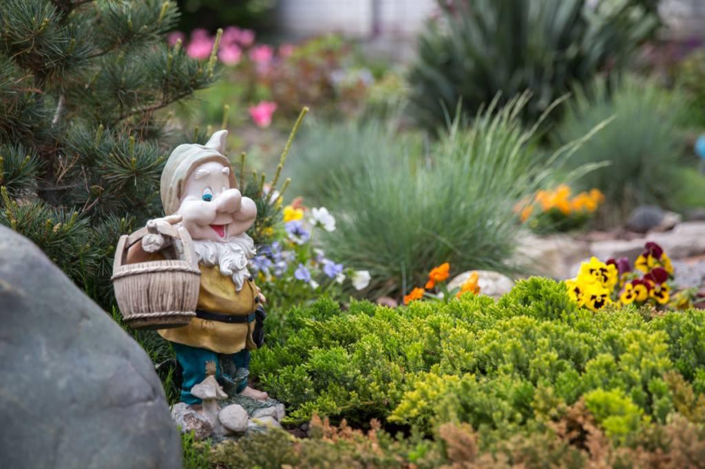 Фигурки в сад своими руками