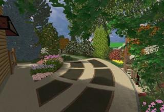 Резиновые садовые дорожки своими руками