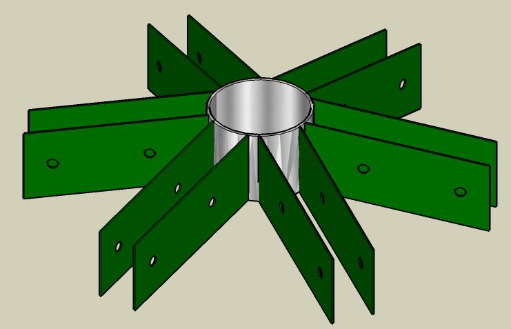 Геодезический купол своими руками без коннекторов