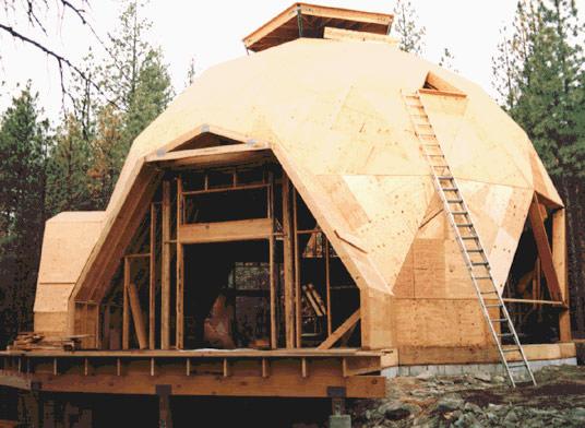 Геодезический купол фуллера