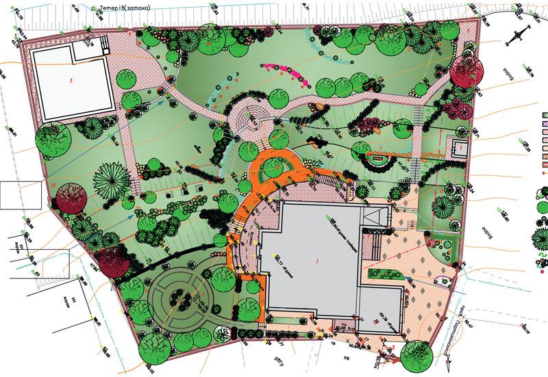 Дендроплан садового участка