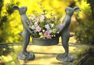 Фигурки для сада, элементы декора