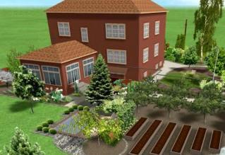 Планирование огорода своими руками
