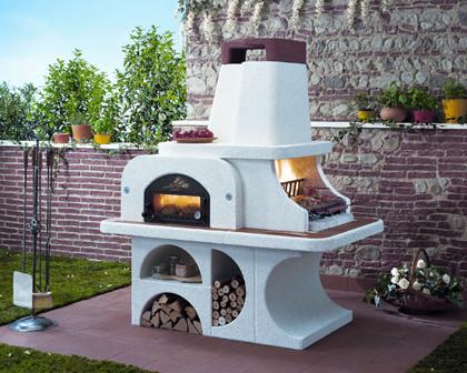 Вот такую садовую печь можно купить в готовом виде