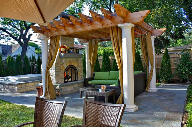 Патио в арабском стиле