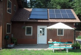 West Newbury, MA - Solar Hot Water