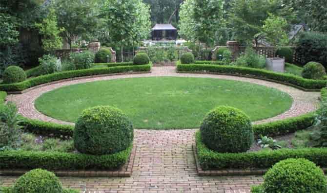 Топиарий в европейских садах