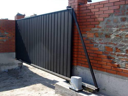 Фото раздвижных ворот