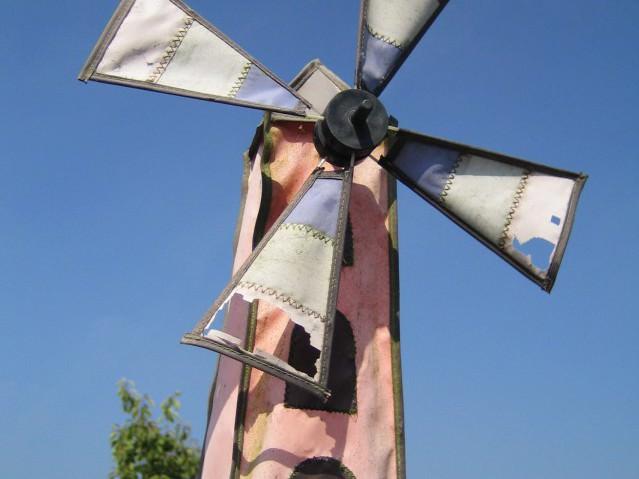 Декоративные ветряные мельницы своими руками