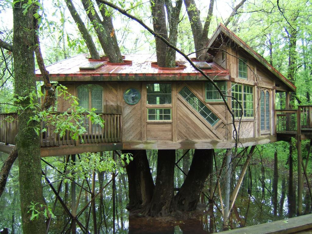 Дом на дереве своими руками видео