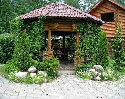 Маленький сад своими руками фото