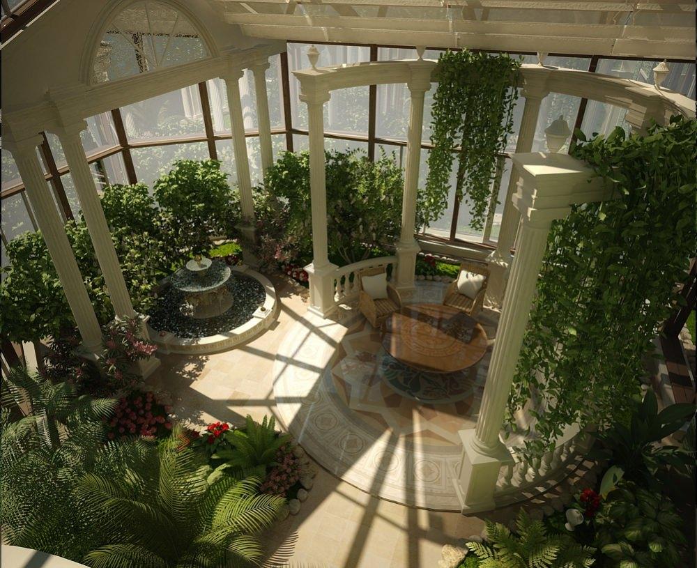 Проектирование зимних садов