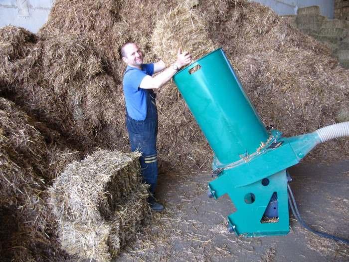 Измельчитель травы садовый электрический своими руками