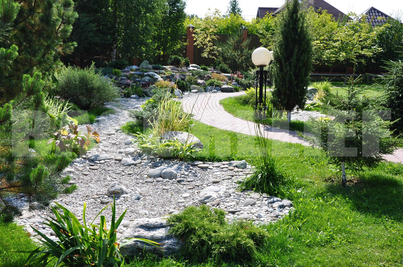 Ландшафтный дизайн помогает достичь гармонии на участке