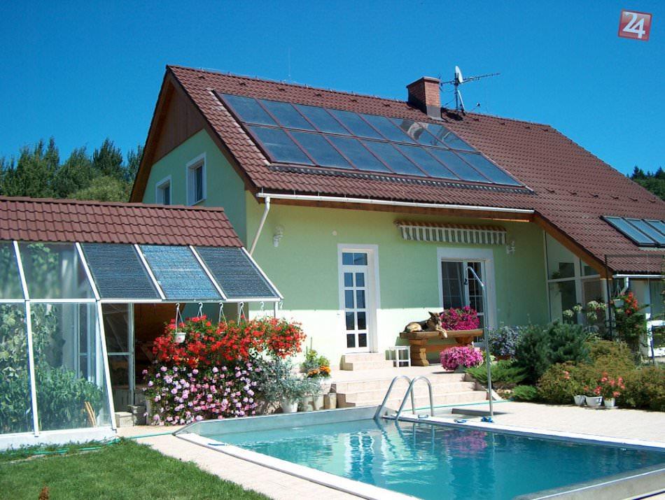Изготовить солнечный коллектор домашних условиях