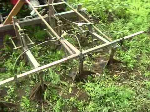 Культиваторы огородные механические