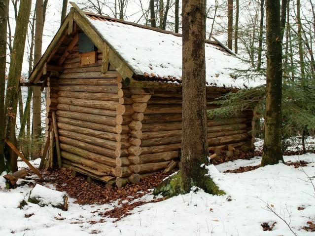 Лесные домики своими руками