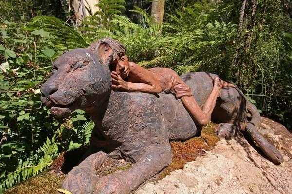 Скачать Скульптуры из Дерева - картинка 4