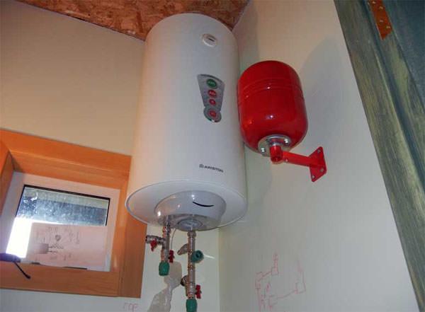 Установка накопительного водонагревателя своими руками видео