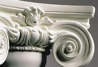 Декор из пенополистирола и его элементы