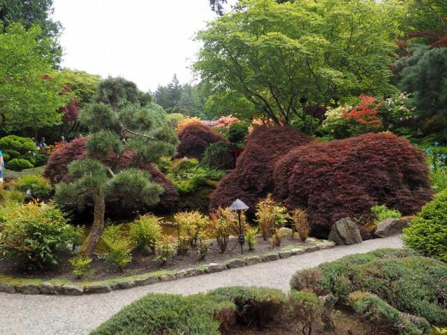 Сад бучарт в Виктории