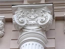Декоративные элементы фасадов из пенополистирола
