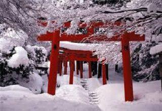 Японские ворота - главная деталь японского сада
